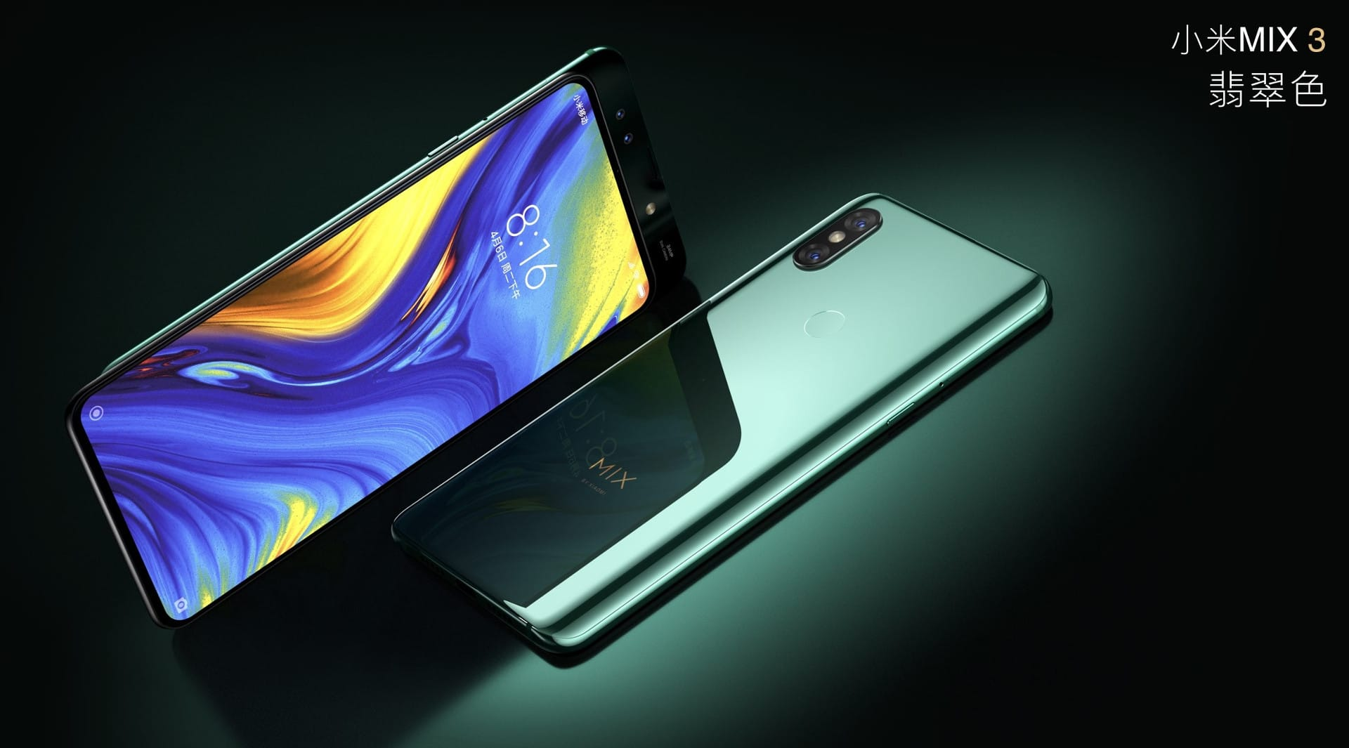 Xiaomi's Much Anticipated Mi Mix 3 is here, With a Slider