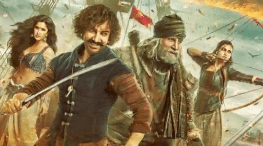 Thugs of Hindostan becomes the new Race 3! Social Media Endlessly Mocks Trailer
