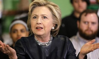 Hillary Clinton says immigration in Europe is now out of control