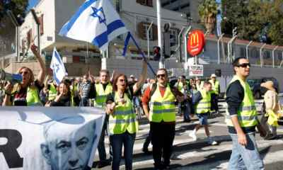 10 Arrested At Yellow Vest Protest In Israel