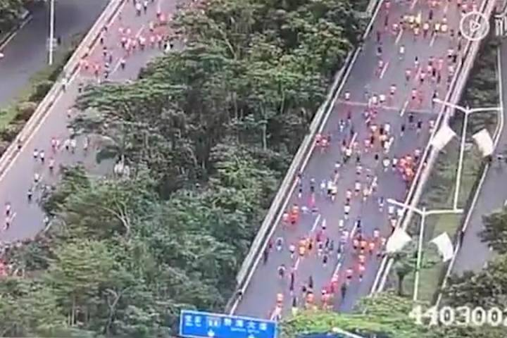 258 runners caught taking shortcuts, cheating at Shenzhen Half-Marathon - National