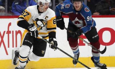 Battle of Cole Harbour: Avs overcome Crosby's natural hat trick, beat Penguins 6-3