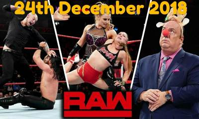 Monday Night RAW 24th December 2018: All matches, results and reviews