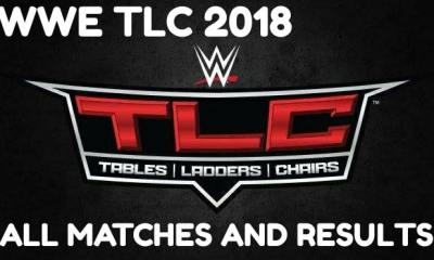 WWE TLC 2018 : Probably A recovery of the failure WWE Crown Jewel