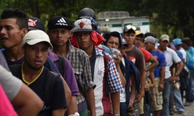 US authorities arrested a notorious convicted murderer who was part of the Honduran migrant caravan, according to aDepartmentof HomelandSecurity statement.