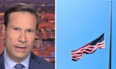 NBC REPORTER: Trump Lowering Flags Tied to 'Heil Hitler' Message