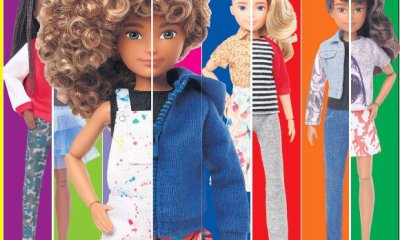 """""""Barbie's making company has launched a new gender neutral doll line"""