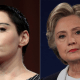 Rose McGowan Slam Hillary Clinton Over Birthday Tweet 'We're Blowing Out YOUR Candle'