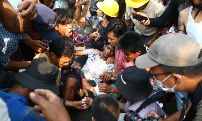 Myanmar's capital have been put under martial law as the number of deaths continues to increase.