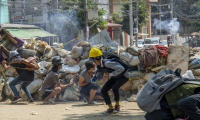 Myanmar's deadly violence has returned after peaceful demonstrations.