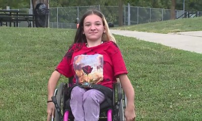Cheerleader says she's been sidelined by high school because of her wheelchair
