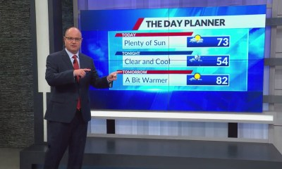 Chilly temps out the door Thursday, but they warm into the low 70's later