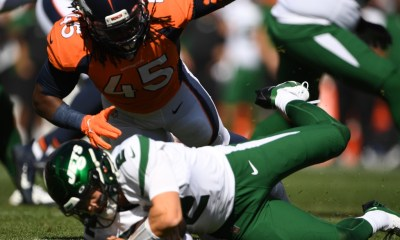 """Broncos have """"top 10 defense,"""" Jets say after New York quarterback Zach Wilson hammered at Mile High"""