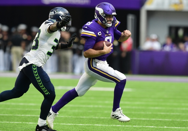 1632718613 93 Without injured Dalvin Cook Vikings swamp Seahawks 30 17 in home