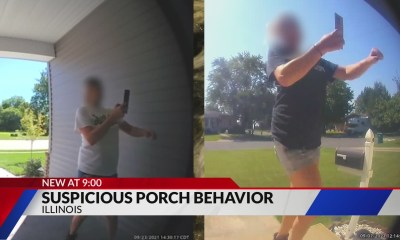 Mystery woman seen taking pictures of strangers' front doors in Madison County