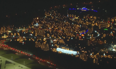 Warm, dry weather helps Way of Lights get jump start on holiday preparations
