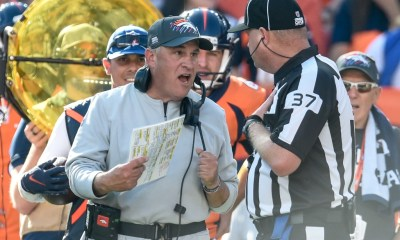 Keeler: In garbage argument over garbage time, Broncos coach Vic Fangio was justified in trying to score. And John Harbaugh is full of it.