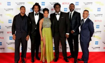 """""""The Harder They Fall"""" Cast And Crew Looked Mighty Fine At London Film Festival Premiere With A Cameo From The QUEEN"""