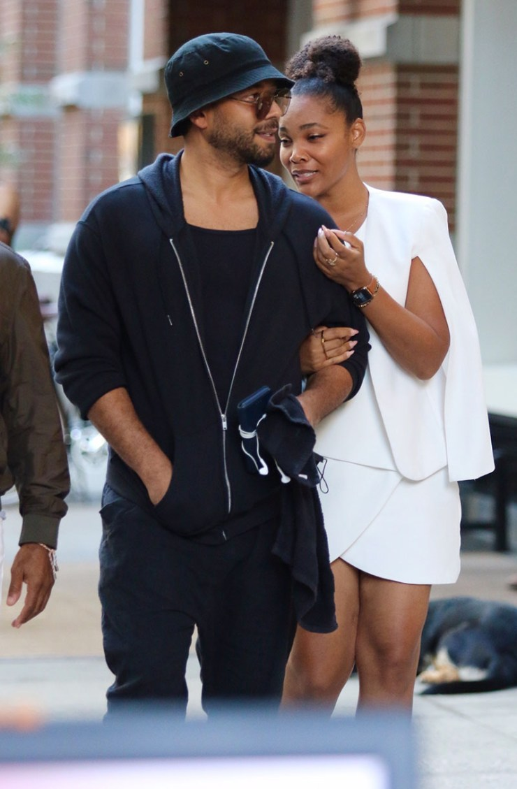 1633649473 615 PICS Jussie Smollett spotted with mystery woman after romantic dinner