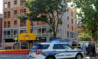 Construction worker who died in Boston fell 6 floors down stairwell shaft, police say 'nothing suspicious'