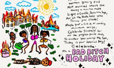 """Saweetie Stamps David Sabastian's """"Bad B*tch Holiday,"""" Dedicated To All Women Who Need A Day Off"""