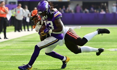 Vikings' Dalvin Cook does some work in practice; Michael Pierce still out
