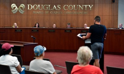 Douglas County health officials give students, teachers option to take off masks in school