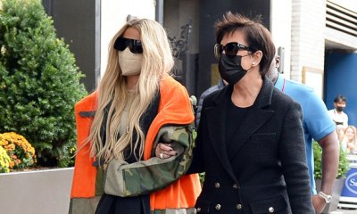 Khloe Kardashian & Kris Jenner Arrive In NYC To Support Kim On 'SNL' Debut — Photos