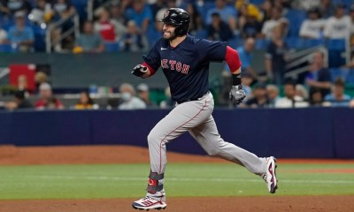 J.D. Martinez, Rafael Devers fighting through injuries to carry Red Sox offense