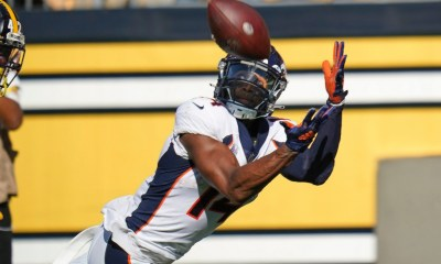 Courtland Sutton provides silver lining in Broncos' loss to Steelers as wideout is slowly but surely returning to Pro Bowl form