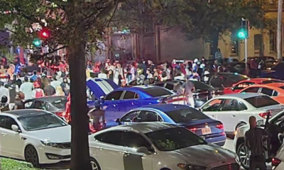 Public safety officials investigating large-scale street racing event held in Downtown St. Louis