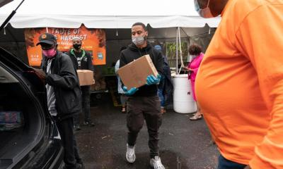 Fewer in U.S. turn to food banks, but millions still in need
