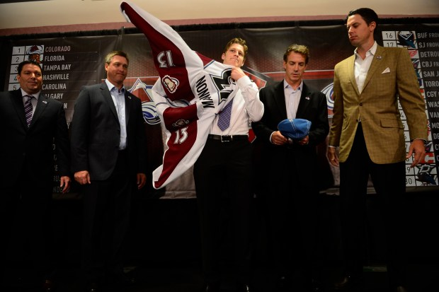 Rookie Nathan MacKinnon puts on his ...