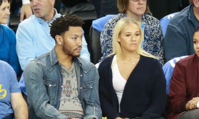 Derrick Rose Proposes To His Longtime Love Alaina Anderson During Romantic Dinner At Madison Square Garden