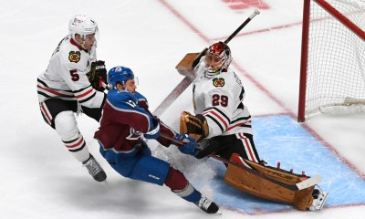 Keeler: Bo Byram hurt Marc-Andre Fleury's feelings on Avs' opening night. And it was glorious.