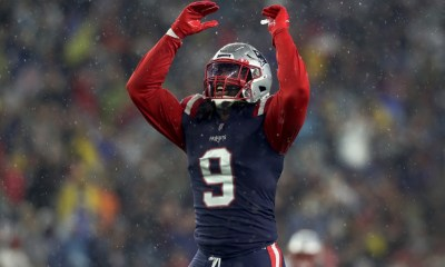 Tall speakers and six sacks: How Matt Judon is changing the Patriots