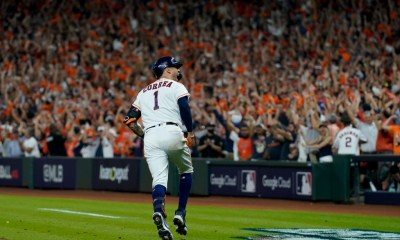 Kiké Hernandez hits two home runs, but Red Sox let opportunity slip in ALCS Game 1 loss to Astros