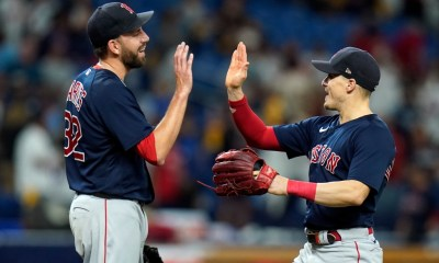 Matt Barnes left off Red Sox' ALCS roster, but CBO Chaim Bloom remains confident in All-Star's future