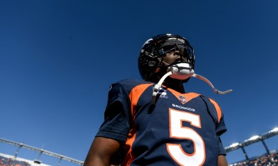 Broncos match season total with four turnovers in Teddy Bridgewater's sloppy performance against Raiders