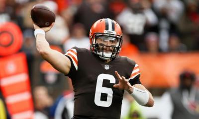 Browns' Baker Mayfield expects to play against Broncos despite shoulder injury