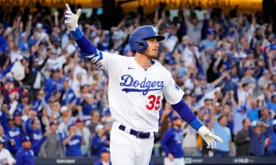 Cody Bellinger's 3-run homer in 8th fuels Dodgers' rally to beat Braves in NLCS Game 3