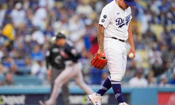 NLCS: Dodgers on brink of elimination after Game 4 loss to Braves