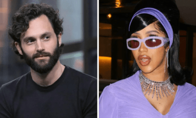 Pure Comedy: Cardi B & Penn Badgley Prove They're One Another's Biggest Fan With Unexpected Twitter Interaction