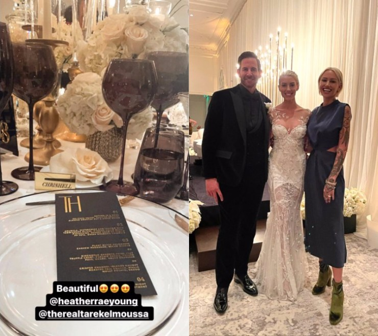 Selling Sunset Tarek El Moussa and Heather Rae Young's Wedding