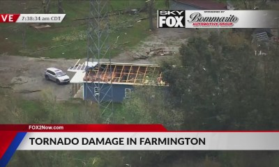 See Missouri tornado damage from SkyFOX helicopter