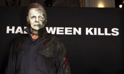 Hate Crime? Michael Myers Branded As Homophobe After Scene In New Flick 'Halloween Kills' Depicts Murder Of Gay Couple