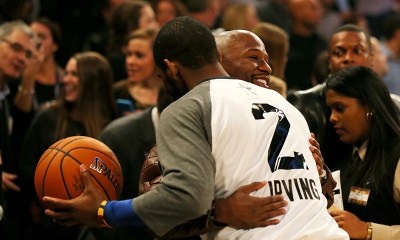 Floyd Mayweather Supports Kyrie Irving Over Vaccine Refusal (Video)
