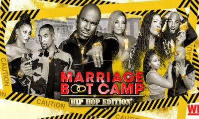 """""""Marriage Boot Camp"""" Exclusive: Tuff Blames Monie Love For Failing To Help Launch His Rap Career AFTER He Cheated!!!"""