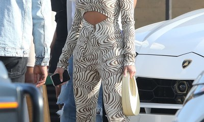 PICS: Lori Harvey lunches with her mom and friends at Nobu Malibu