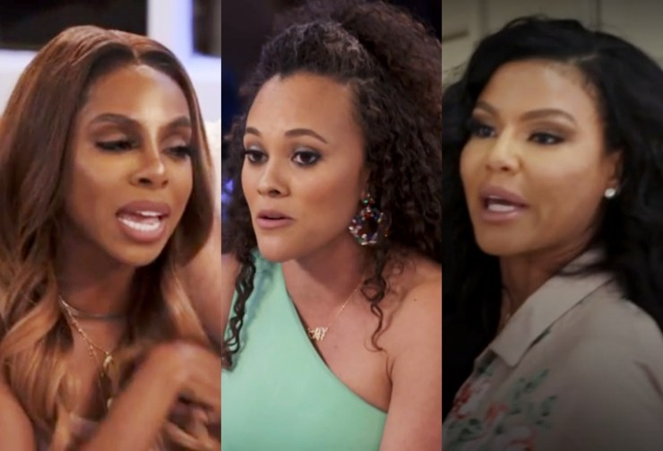 RHOP Recap: The fight between Candiace and Mia continues and Chris storms away from the table when Candiace won't calm down Plus Gizelle and Robyn arrive and already want to leave because of the accommodations